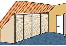 dachboden schrank selber bauen bauanleitung f 252 r einen ger 228 umigen dachschr 228 genschrank dachausbau