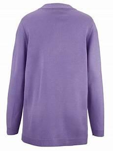 m collection pullover mit stehbundkragen mit kn 246 pfen zu