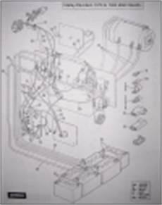 1978 Harley Davidson Golf Cart Wiring Diagram by Vintagegolfcartparts