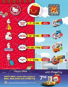 Mcdonalds Happy Meal Preis - mcdonald s free hello bandai toys with happy meal