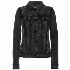 j brand denim jacket in black lyst