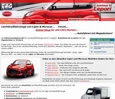 Leichtkraftfahrzeuge Ligier Microcar Microcar Bottrop