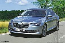 2018 Skoda Superb Facelift Front Rear Rendered By German