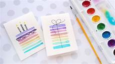 easy diy birthday cards using minimal supplies