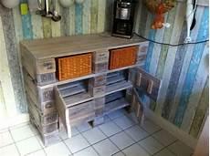 palettenregal selber bauen kitchen pallet cabinet doors open pallet