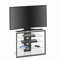 tv rack setting in anthrazit glas pharao24 de