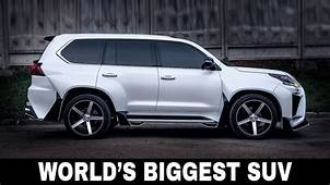 10 Largest SUV Cars With Up To 9 Passenger Seats 2018