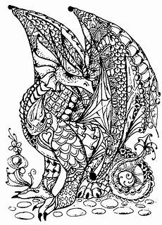 drachen 63128 drachen malbuch fur erwachsene