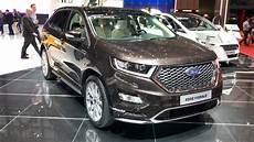 ford vignale edge ford edge vignale 2017 in detail review walkaround