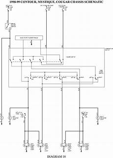 1998 contour wiring diagram solved 98 ford contour wiring diagram fixya
