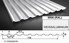 aluminium trapezblech 20 138 alu 0 70 mm dachprofil 25my