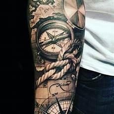 Compass 2 Tatuagem De Corda Jovens Tatuados