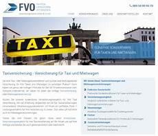 taxi versicherung anbieter unterschiede