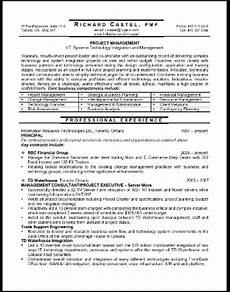 project manager executive resume writing service