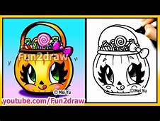 Cute Candy Bucket  How To Draw Halloween Easy Stuff