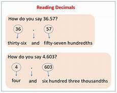 reading and writing decimals worksheets grade 4 7431 reading and writing decimals solutions exles worksheets activities