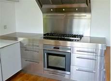 cuisine inox sur mesure 233 vier mobilier table cr 233 dence