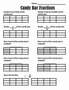 fraction bar worksheets 3856 bar fractions by perfectly primary printables tpt