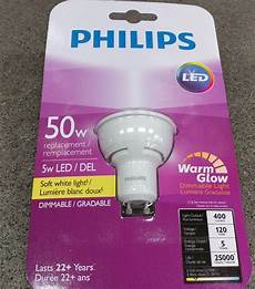philips warm glow gu10 philips warm glow 50w led replacement 2200 2700k gu10