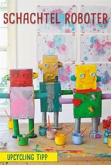 Roboter Basteln Roboter Aus Papier Basteln Mit Kindern