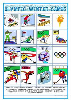 winter olympics esl worksheets 19995 picture dictionary olympic winter esl worksheets for distance learning and