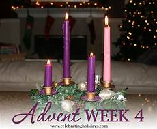 advent week 4 scripture reading and candle