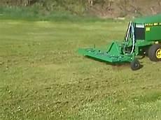 Rasenlüfter Selber Bauen - rasentraktor deere mit eigenbau rasenl 252 fter