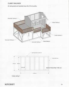 timber cubby house plans cubbyhouse kits diy handyman cubby house on ground cubbys