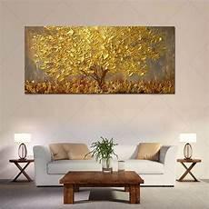 handgemalte bilder auf leinwand handgemalte messer gold baum 214 lgem 228 lde auf leinwand gro 223 e