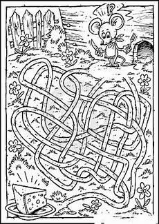 Malvorlagen Labyrinthe Ausdrucken Labyrinthe 7 Ausmalbilder Malvorlagen