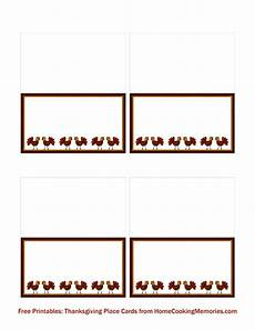 thanksgiving turkey place card templates free printables thanksgiving place cards home cooking