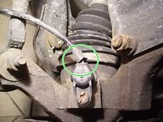 changer un capteur d a b s sur roue avant la m 233 canique