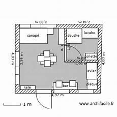 plan studio 20m2 studio 20m2 plan 1 pi 232 ce 16 m2 dessin 233 par miveran