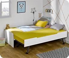 Lit Enfant Gigogne Sleep In Blanc 90x200 Cm