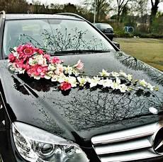 wedding car decoration d 233 coration voiture de mariage