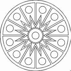 Mandala Malvorlagen Gratis Mandala Geordnet Ausmalbild Malvorlage Mandalas