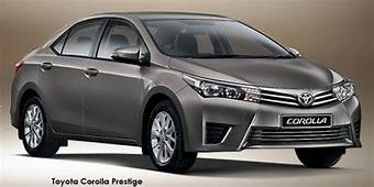 New Toyota Corolla Specs & Prices In South Africa  Carscoza