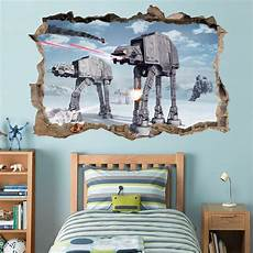 Wars Wall Stickers wars battle of hoth smashed wall decal removable wall