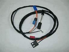 69 Camaro Tachometer Wiring Harnes by 1969 Camaro Center Dash Clock Wiring Harness