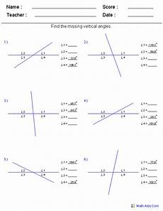 complementary and supplementary angles worksheets homeschooldressage com