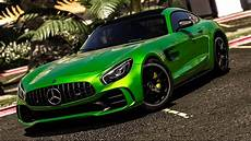 Mercedes Amg Gt R 2017 Add On Replace Template