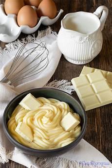 crema pasticcera cioccolato bianco la crema pasticcera al cioccolato bianco 232 una deliziosa preparazione che pu 242 divenire un ricco