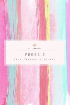 freebie watercolor background colorful brush strokes