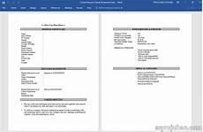 cara membuat resume ringkas untuk memohon kerja myrujukan