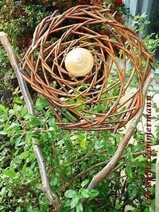 Weiden Flechten Garten Netz Werk Gestaltung Natur