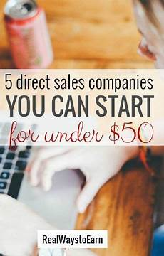 5 direct sales companies you can start for under 50