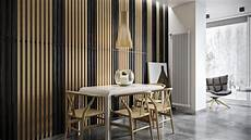 Bois Mural Intérieur Wood Slats Add Texture And Warmth To These Homes