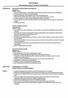 resume it team leader 6 leadership resume exles ledger paper