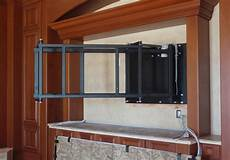 swing tv motorized swing extend tv mount for 90 inch tv