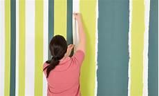Farben Zum Streichen - streichen farbe in streifen maltechniken selbst de